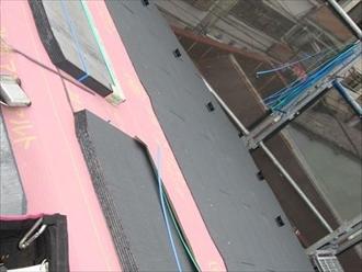 川崎市高津区坂戸にて棟板金の外れをきっかけに屋根葺き替え工事を行いました