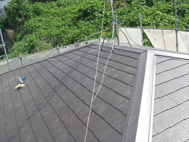 屋根葺き替え工事完成