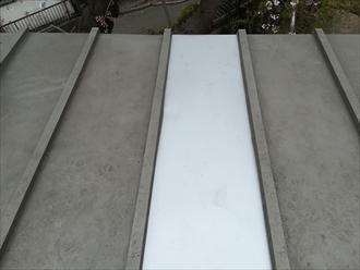 瓦棒葺き屋根の部分補修工事完了