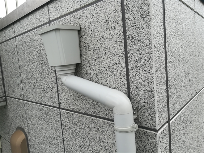 雨樋復旧工事完了