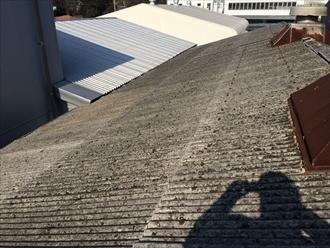 工場の屋根もメンテナンスが必要
