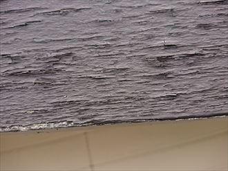 塗膜が劣化して剥がれております