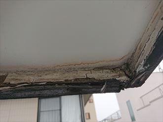 軒天からの雨漏りも対応します