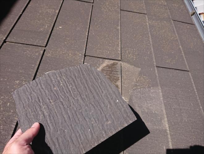 ノンアスベスト屋根材でもコロニアルNEOやパミールなどは塗装ができない屋根材です