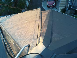 複雑な造りをしている屋根の棟