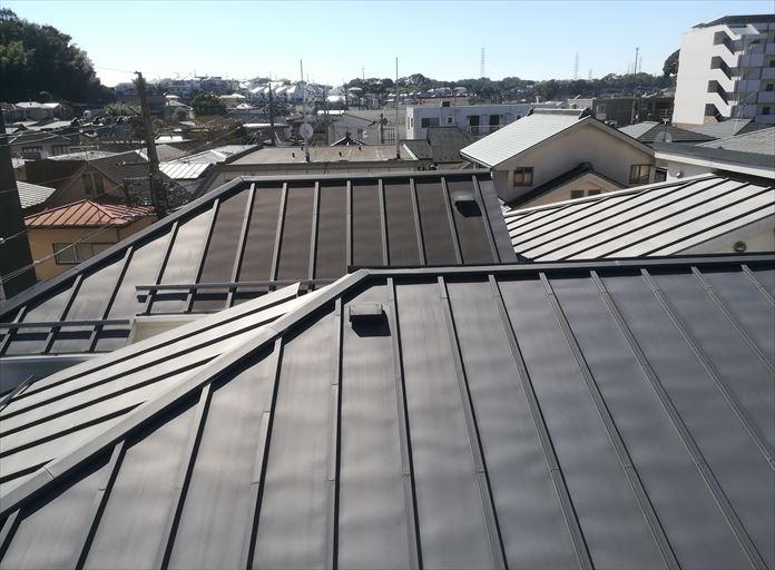 瓦棒屋根の調査