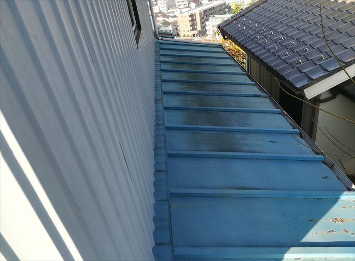 瓦棒葺きの板金屋根