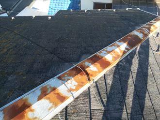錆びすぎると棟板金は塗装しても長持ちしない
