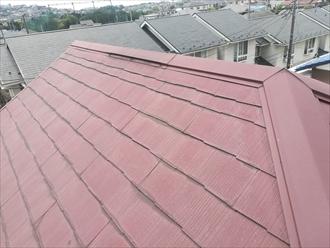H様宅屋根の様子