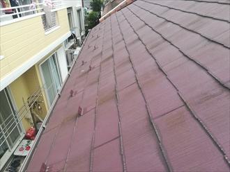 屋根表面の劣化