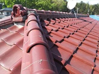 横浜市瀬谷区中屋敷にて瓦屋根からの雨漏り、屋根葺き替えのご提案