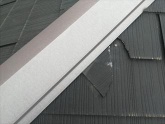 その他のスレート材の破損