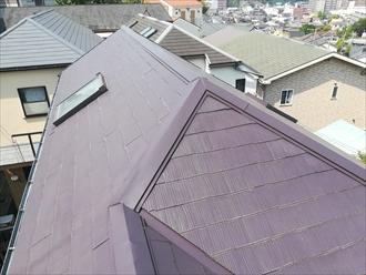 M様宅屋根の様子