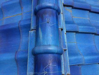 大和市上和田で調査した瓦屋根は、瓦以外の部分で傷みが出ておりました
