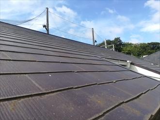 工事前、屋根の様子