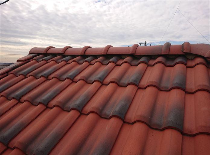 洋瓦屋根の点検