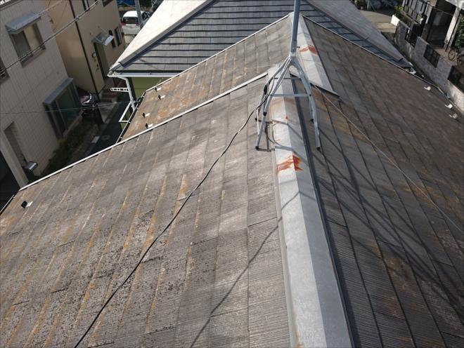 築25年程経過した化粧スレート屋根