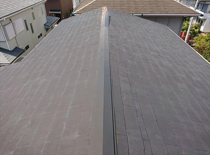 風の影響を受けやすい屋根の棟板金