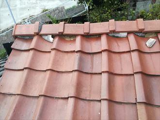 瓦の歪みは雨漏りの危険性があります