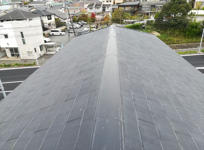 屋根の棟板金は飛ぶことがある
