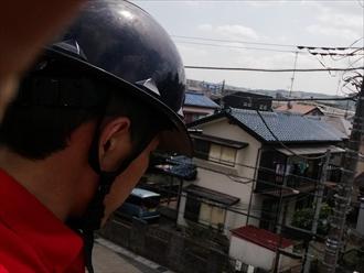 横浜市緑区鴨居にて築30年の屋根、破風板の補修のご相談をいただきました