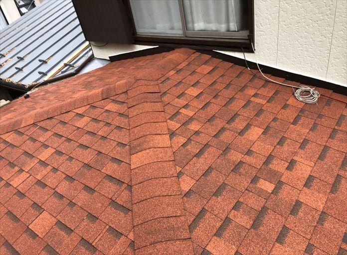 オークリッジスーパーを使用した屋根葺き替え