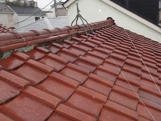 横須賀市池上 屋根葺き替え工事前の瓦屋根