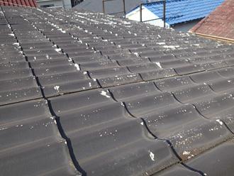 鎌倉市高野 セキスイかわらUの屋根