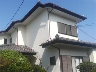 平塚市田村で漆喰補修点検