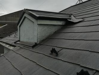 鳩小屋ありの屋根