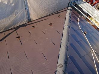 綾瀬市深谷南 金属屋根材での屋根葺き替え工事
