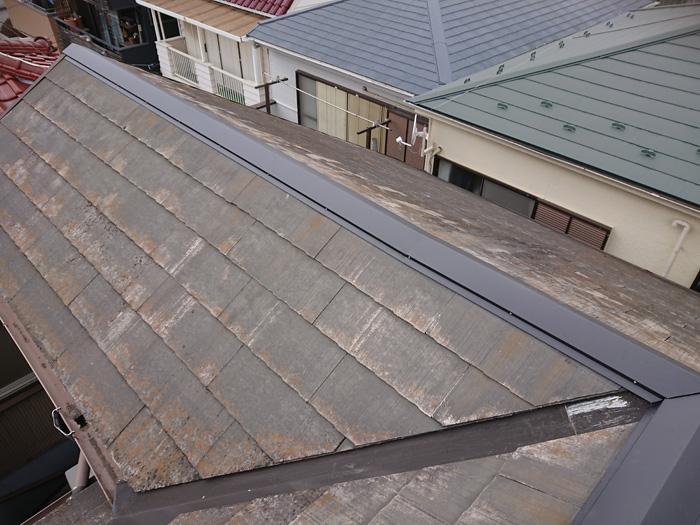 綾瀬市深谷上 棟板金交換工事 完了