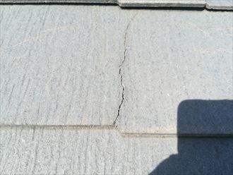 スレートのひび割れは屋根塗装の目安