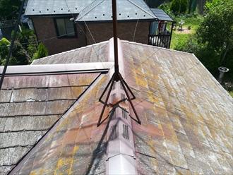 横浜市青葉区大場町にて築18年で初めての屋根メンテナンスに葺き替えのご提案