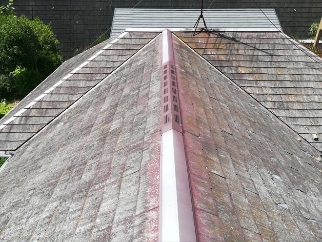 築18年、ノーメンテナンスの屋根の状態