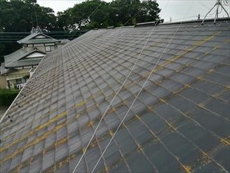 屋根表面の傷み