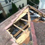 台風15号直後の屋根の様子