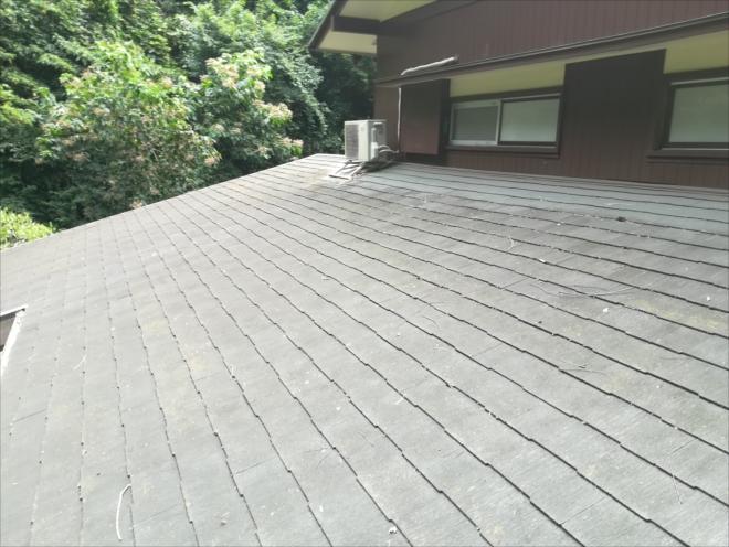下屋根の様子