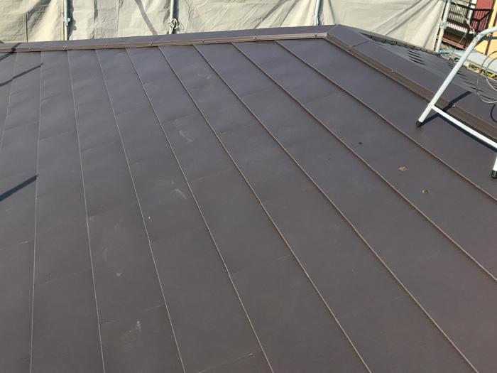 綾瀬市深谷南 ヒランビーを使った屋根葺き替え工事竣工