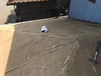 厚木市下荻野 屋根葺き替え工事 屋根材撤去