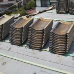 伊勢原市岡崎にて雨漏りしている屋根を屋根葺き直し工事で改善