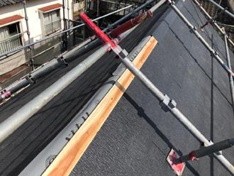 横須賀市坂本町 屋根葺き替え工事 スレート設置