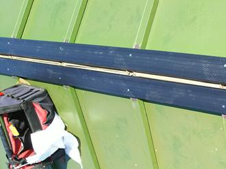 厚木市三田 樹脂製貫板のタフモック