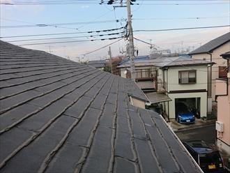 片流れ屋根に使われていたニチハパミールは塗装でのリフォームができない、無駄になる屋根材です