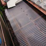浜市都筑区牛久保西にて台風で外れたバルコニー波板の交換工事