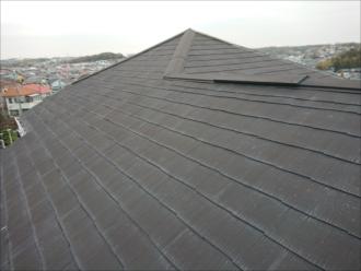 特徴的なデザインの屋根