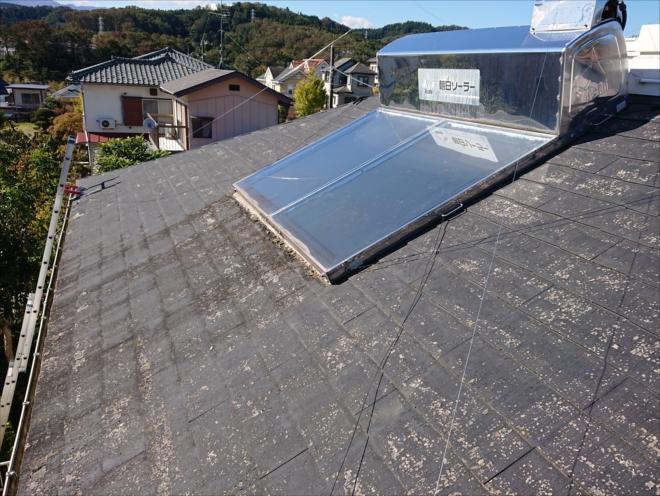 温水器は朝日ソーラー製