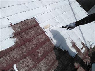 表面を乾燥させてから下塗りを行う