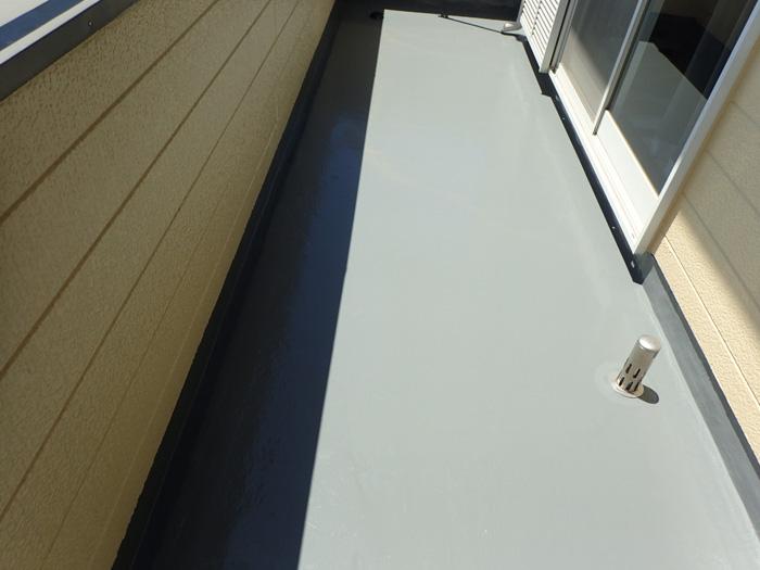 川崎市宮前区馬絹 ウレタン防水工事完了