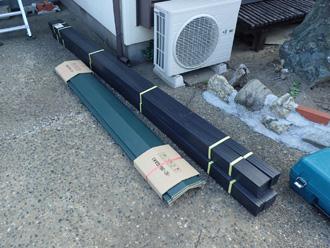 厚木市三田にて樹脂製貫板タフモックとガルバリウム鋼板の棟板金へ交換